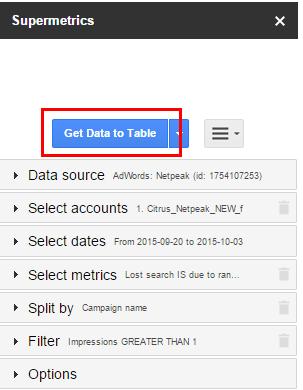 Чтобы получить все эти диаграммы и актуализировать данные по ним, переходим на листе RawData в ячейку A1 и жмём на SideBar кнопку Get Data to Table