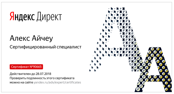 Алекс BRainy — Yandex.Direct