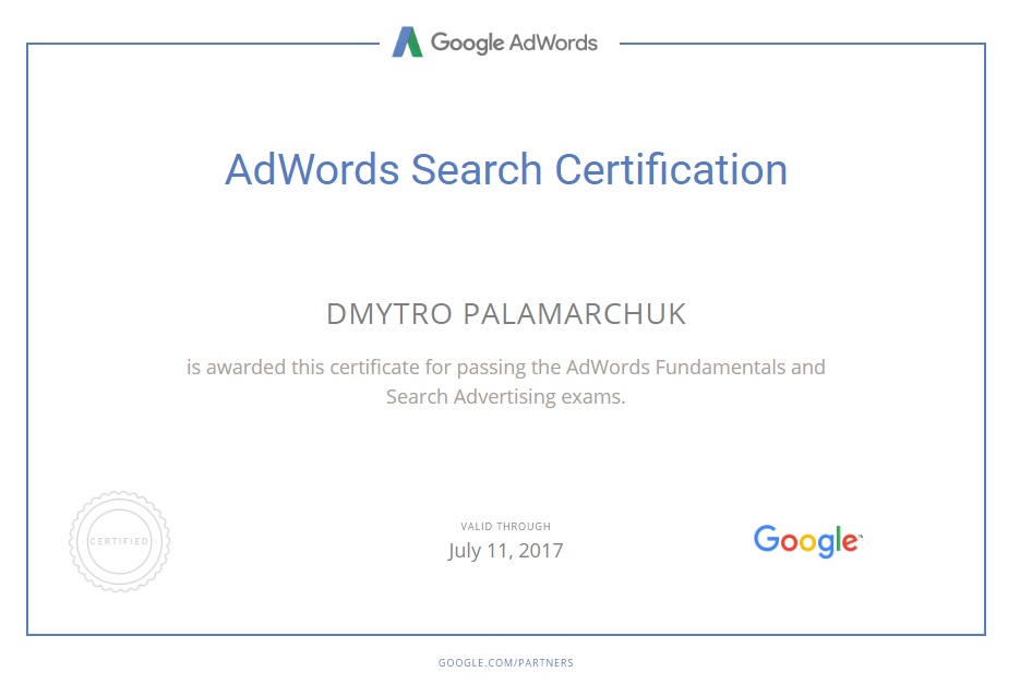 Mariush — Google AdWords