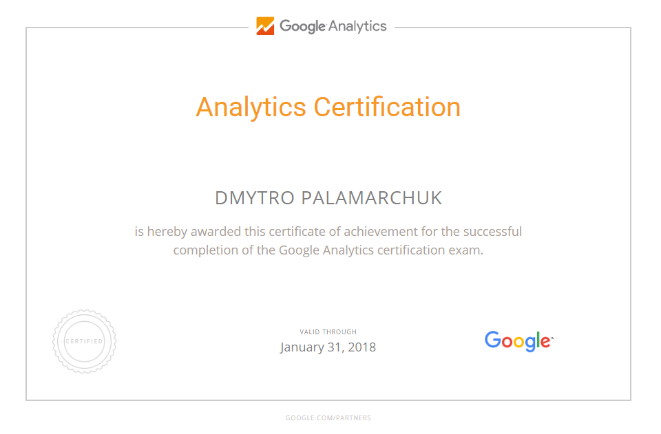 Mariush — Google Analytics