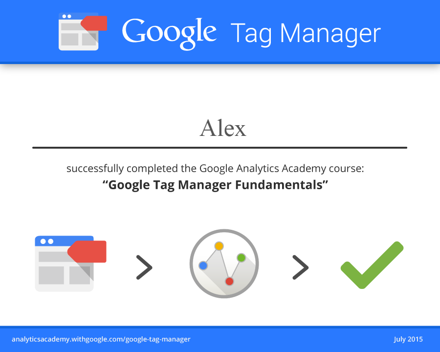 Александр mraleks — Google Tag Manager