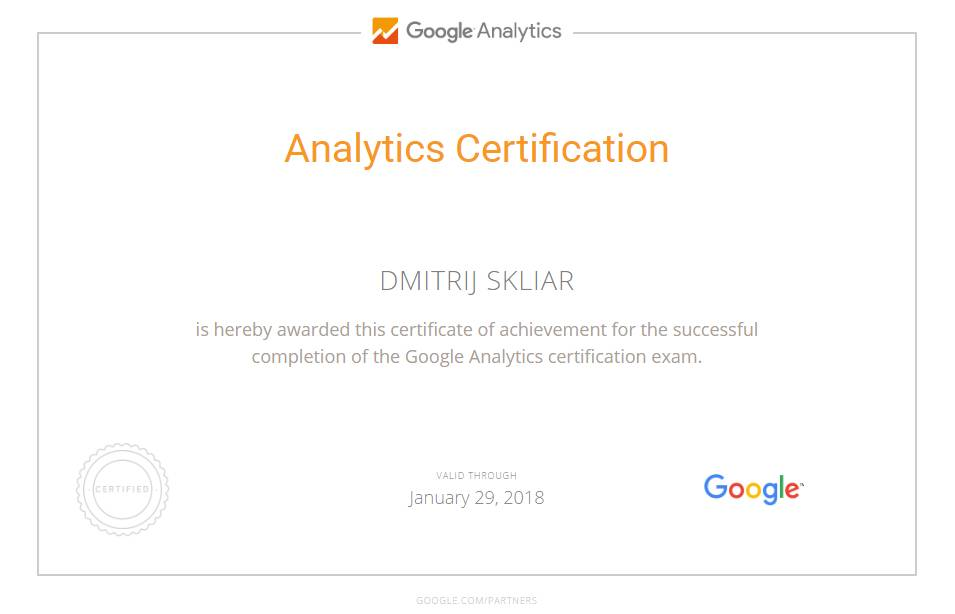 Stefan — Google Analytics