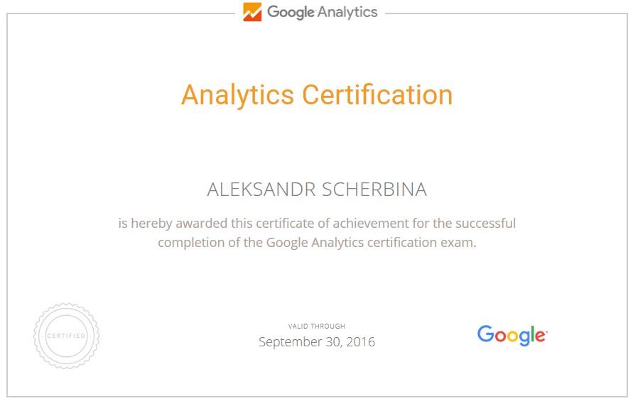 Александр Ted — Google AdWords