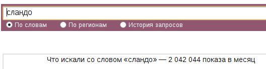 Подобные запросы несут ценность для вебмастеров, так как они очень частотные.