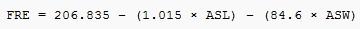 Формула Флеша для определения рибабилити англоязычного текста