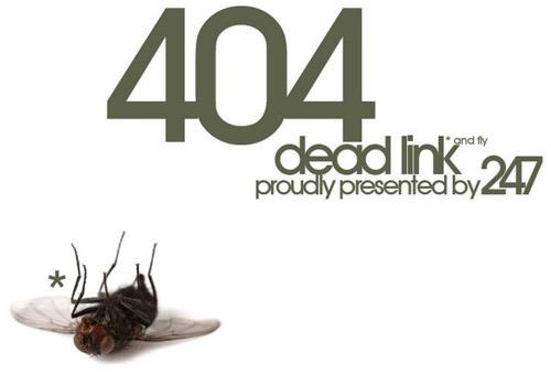 Пример ошибки 404