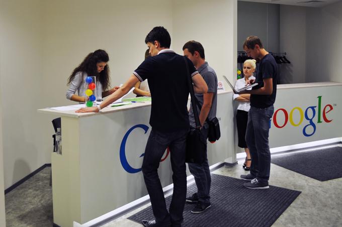Регистрация на семинар Google