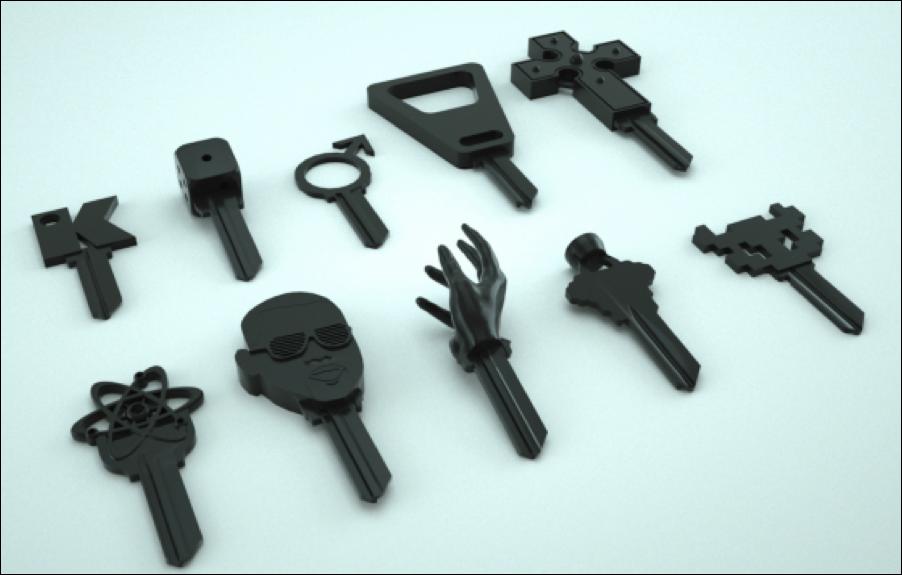 Такие ключи сложно перепутать.