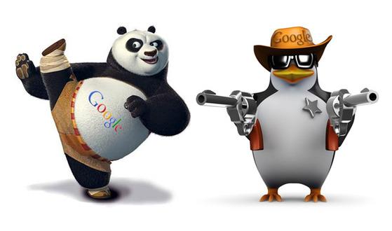 Панда и пингвин Google