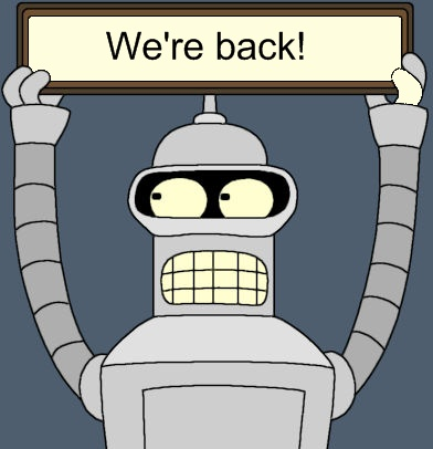 Robots will be back