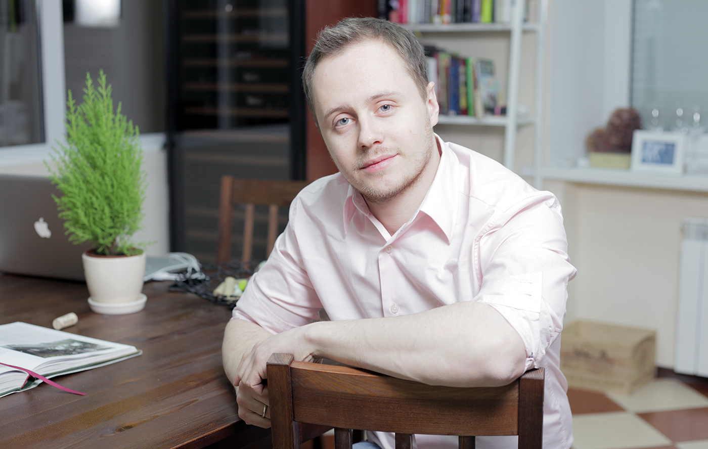 Сомелье Алексей Дмитриев