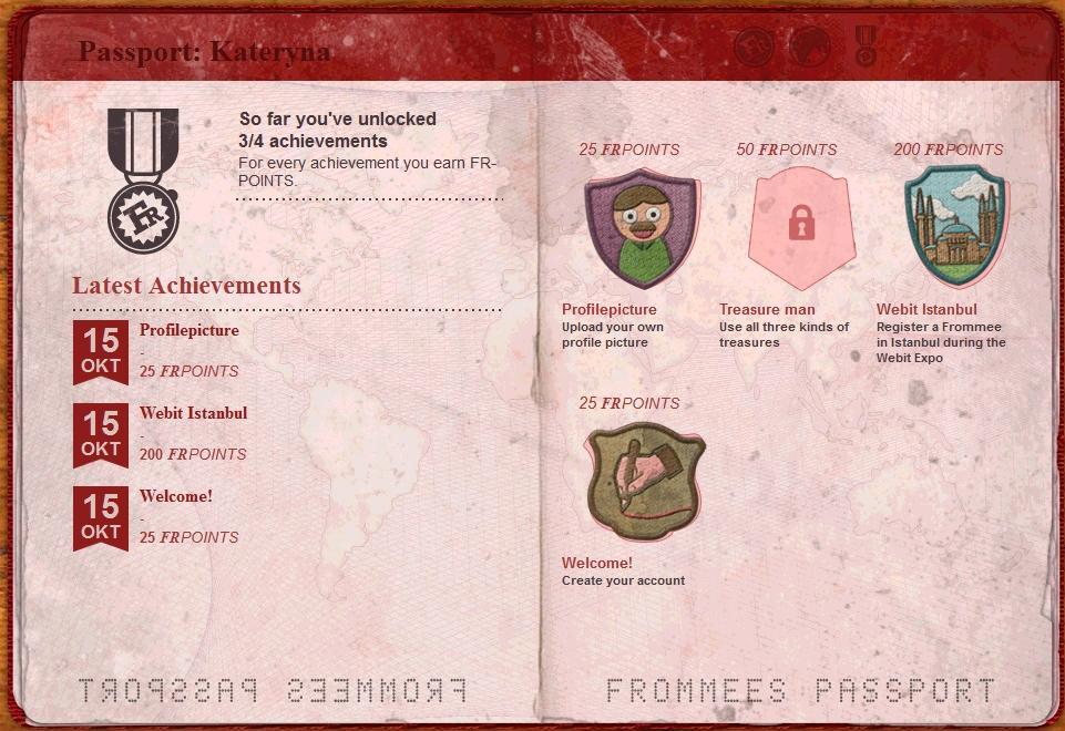 Frommees Passport