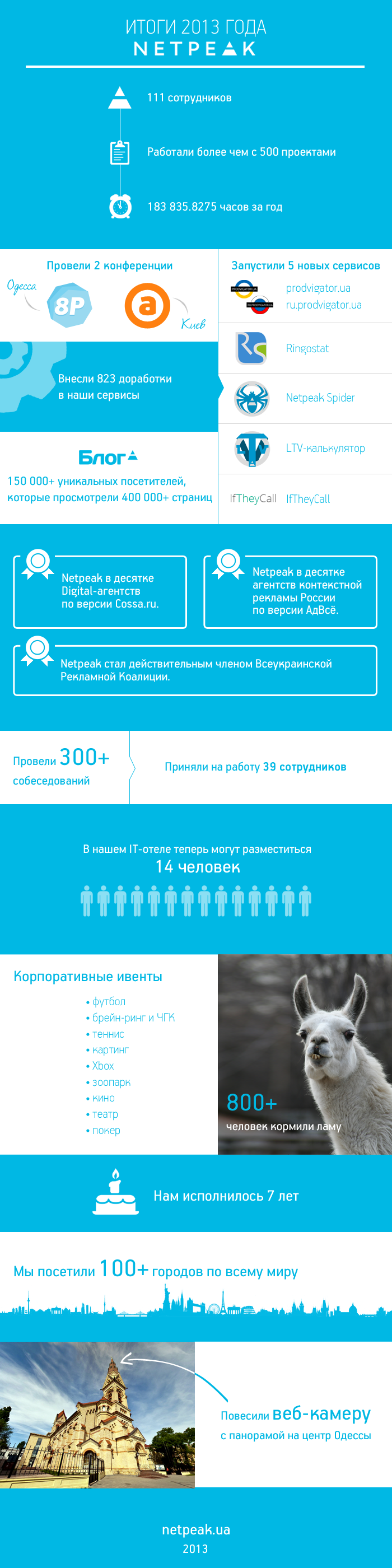 Итоги 2013 года Netpeak