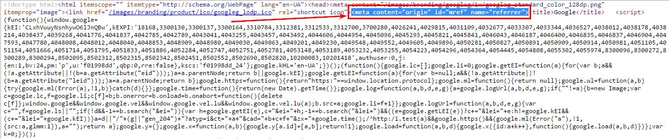 Этим способом пользуется Google на своих страницах