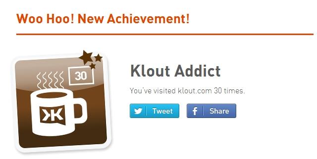 Klout Addict