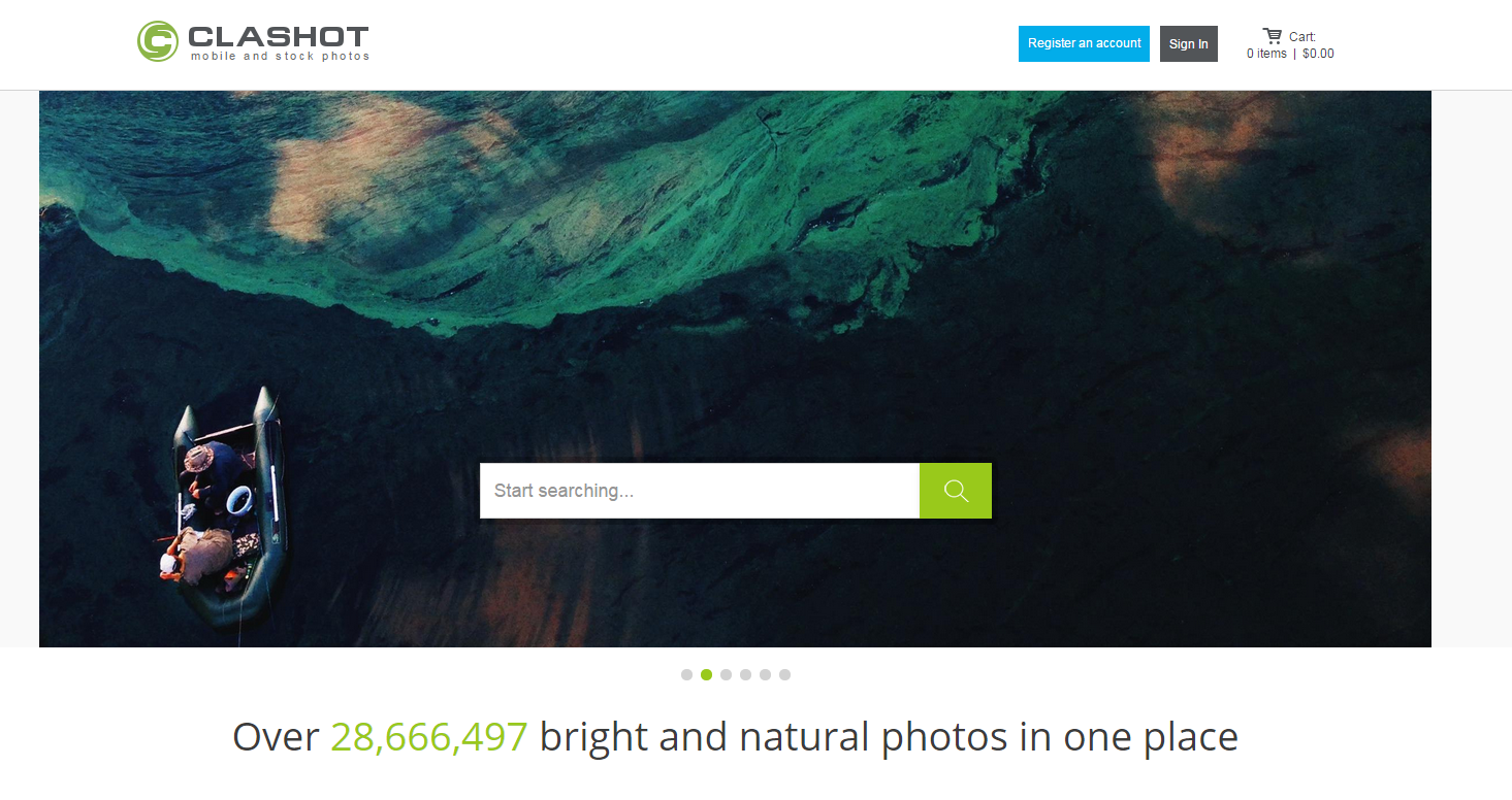 Clashot.com: earn money taking photos with your phone
