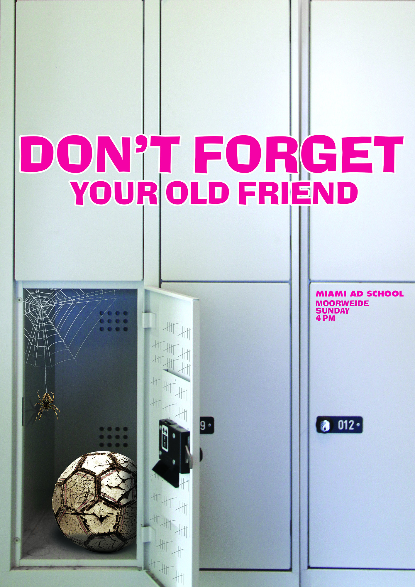 Don't forget your old friend