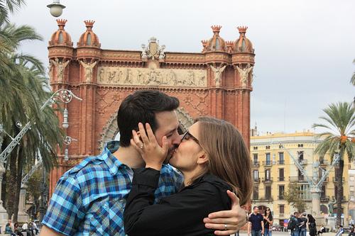 Рэнд Фишкин с женой