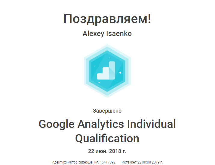 alexman — Google Analytics