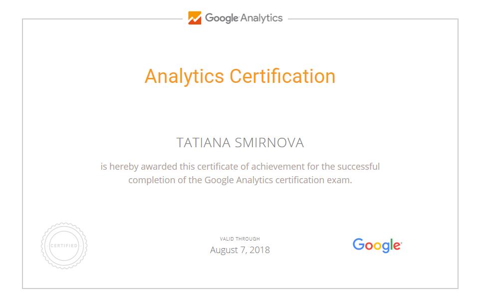 Tatiana batgirl – Google Analytics