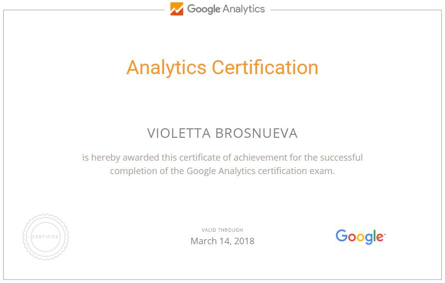 fialka — Google Analytics
