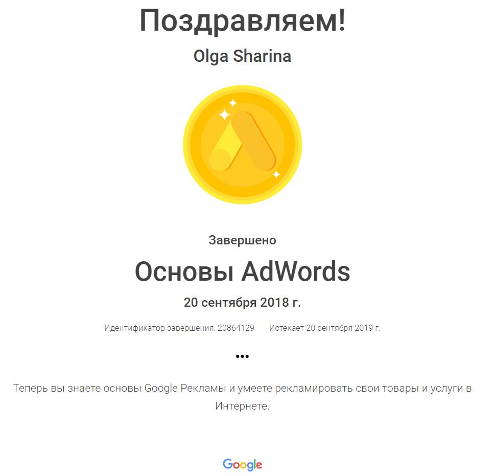 Ginger — Google AdWords