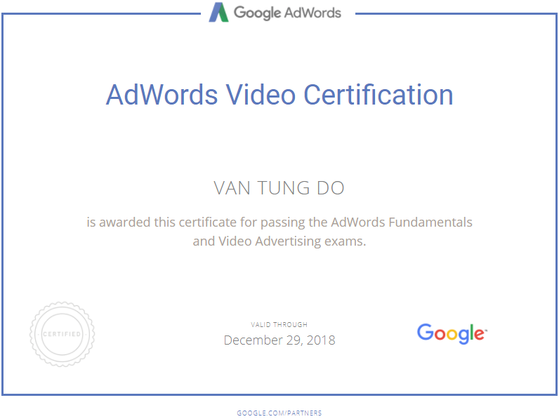 Ван heisenberg — Google AdWords