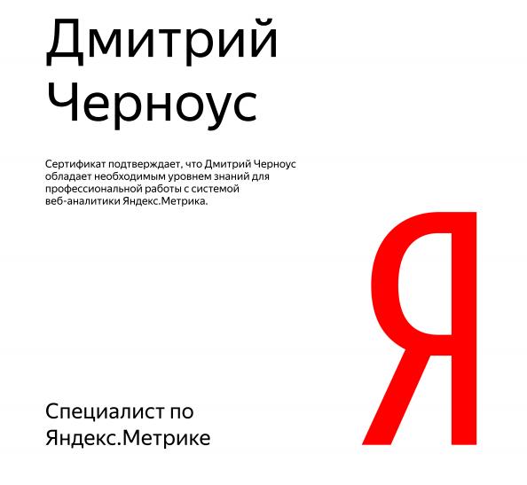 Dmitriy Lark – Yandex.Metrica