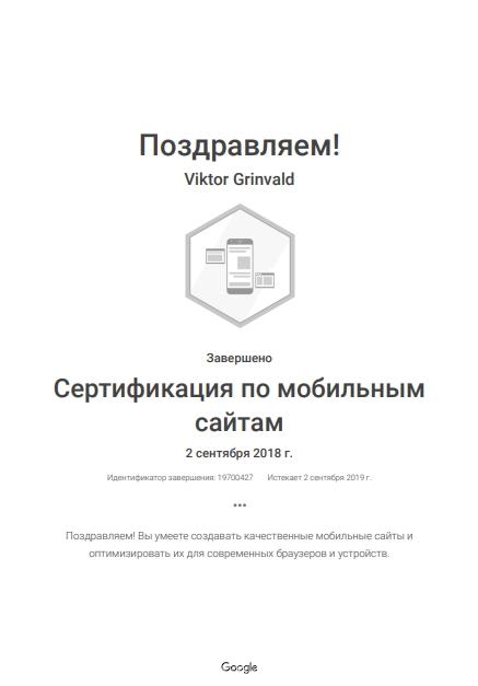 Виктор Levin — Google AdWords