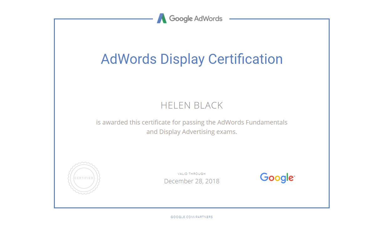 Елена matilda — Google AdWords