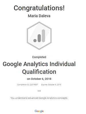 mimzz — Google Analytics