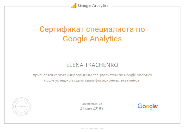 Murph — Google Analytics