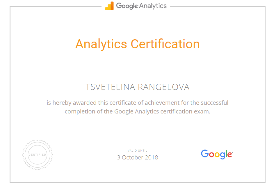 Ranger — Google Analytics
