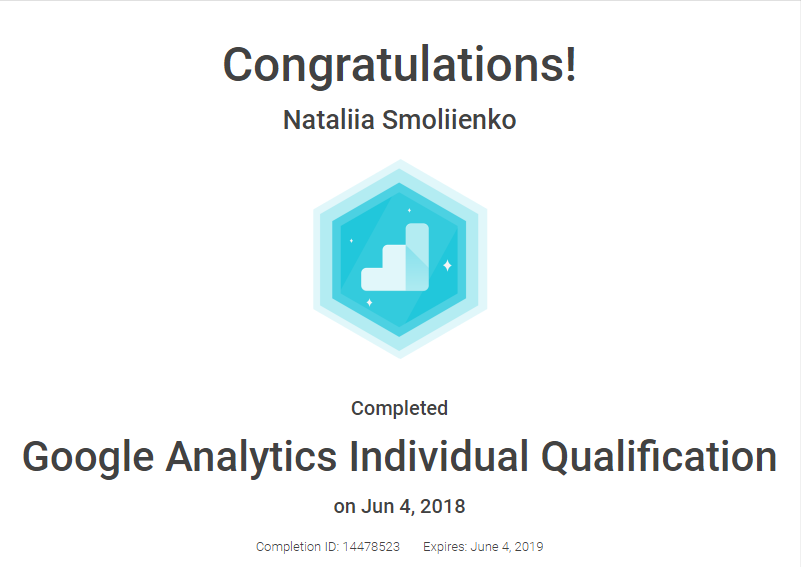 Smolka — Google Analytics