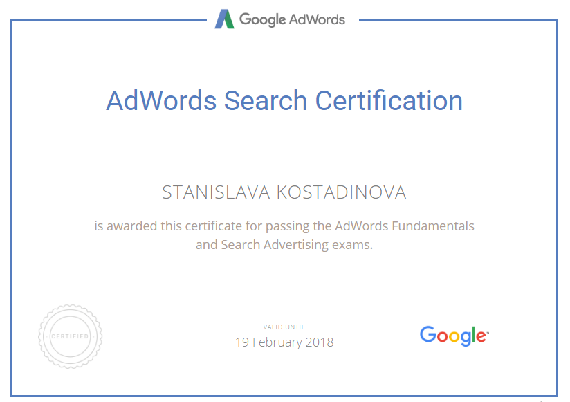 stasi — Google AdWords