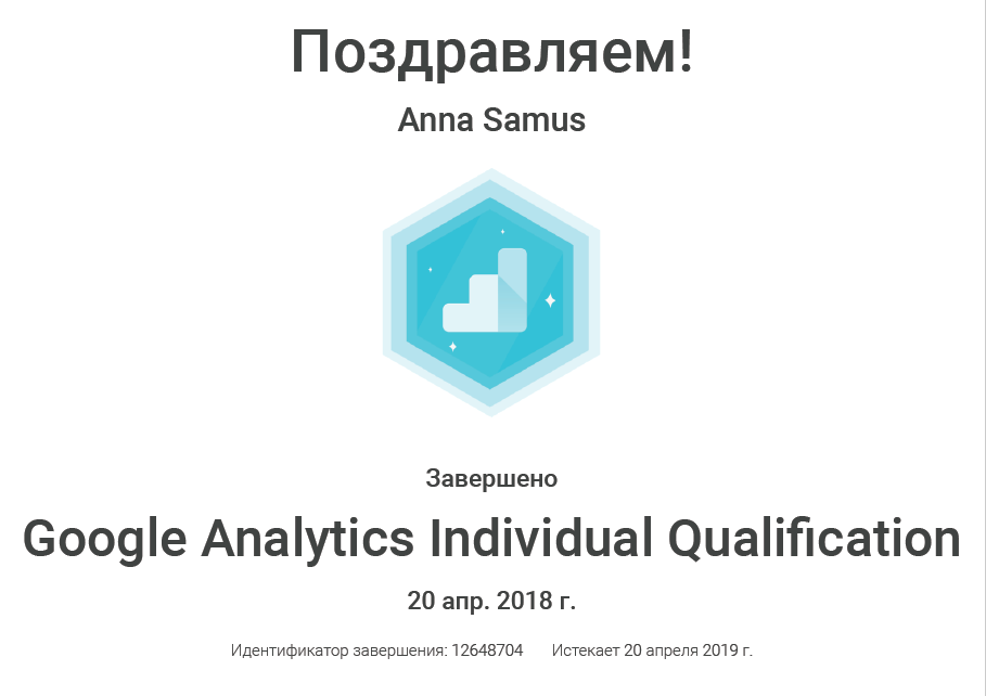 Anna Stereomind – Google Analytics