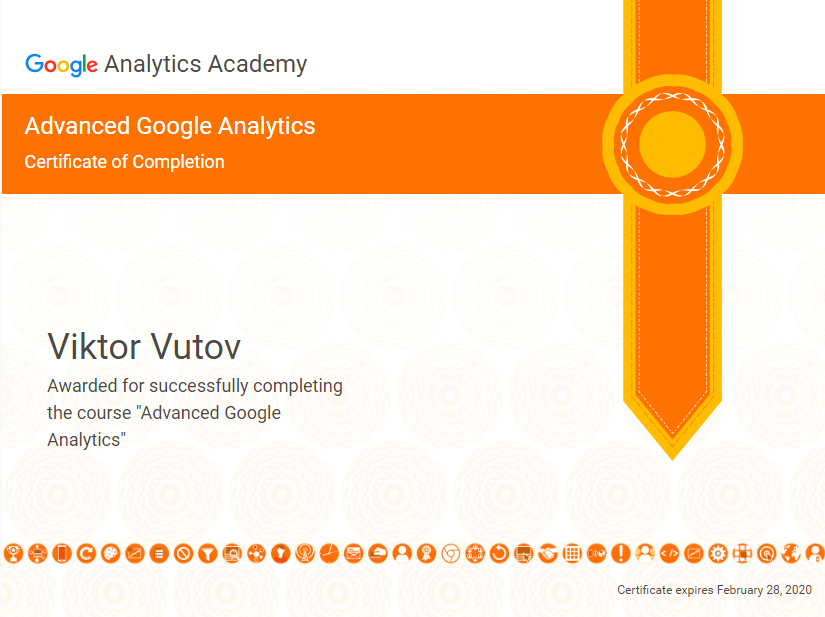 Vic — Google Analytics