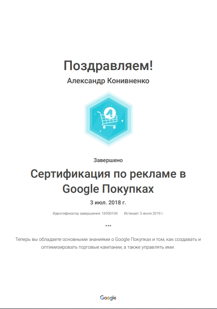 Oleksandr Vinnie – Google AdWords
